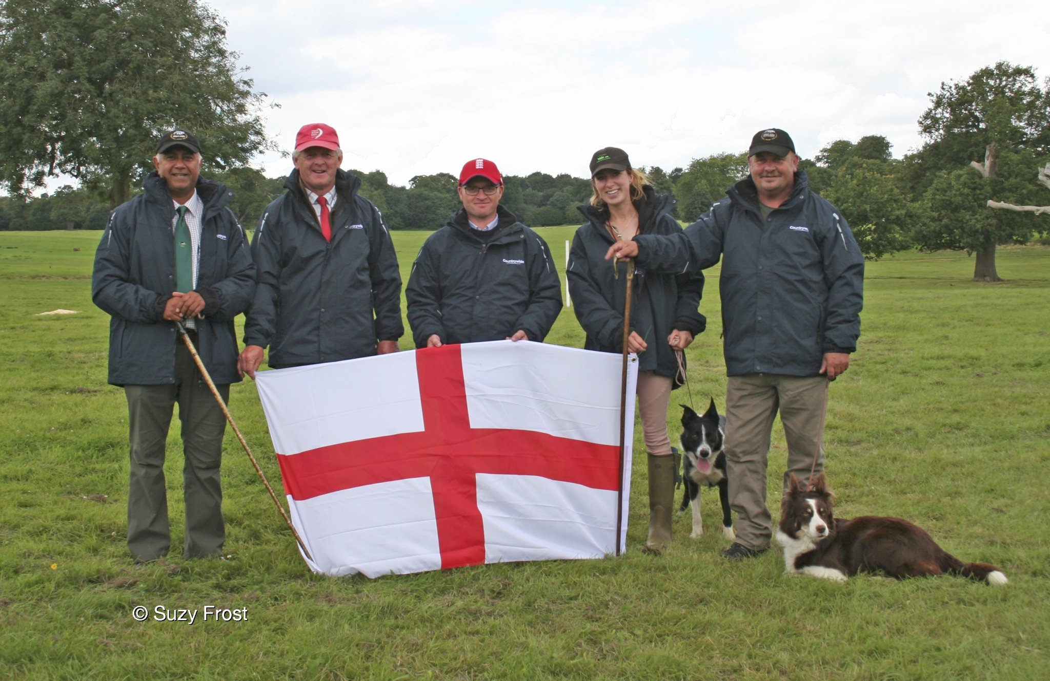 England World Trial winners 2017