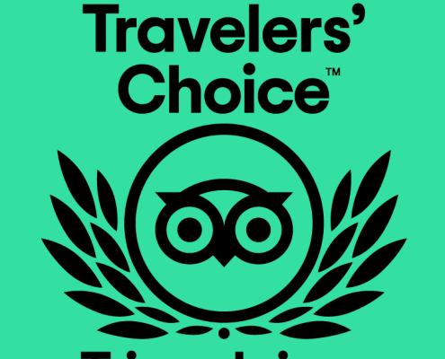Trip Advisor Travelers' Choice Award